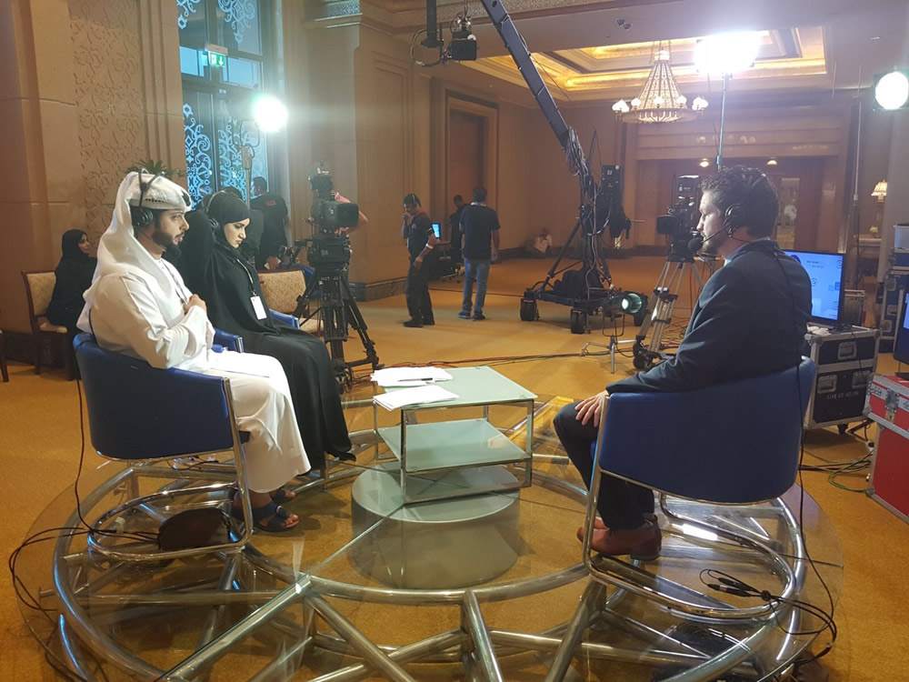 Live Interview Abu Dhabi TV