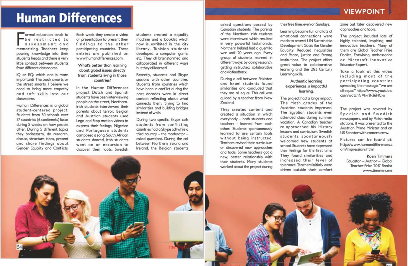 Human Differences - Digest Magazine